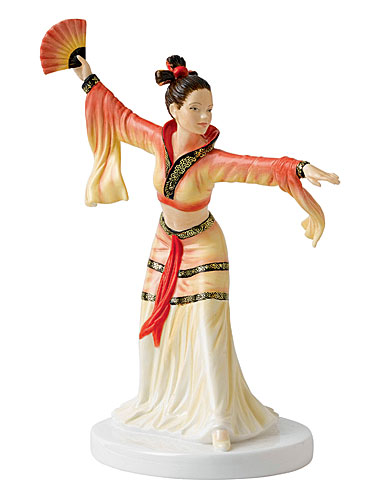Royal Doulton Pretty Ladies Dances of the World - Chinese Fan Dance