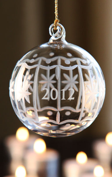 Marquis by Waterford 2012 Annual Ball Ornament