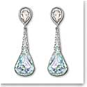 Swarovski Light Azore Moonlight Lunar Pierced Earrings