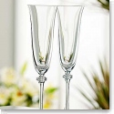 Galway Crystal Liberty Flute, Pair