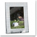 Baccarat Eye Picture Frame, Clear