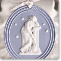 Wedgwood Muse Resting Ornament