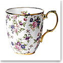 Royal Albert 100 Years 1940 English Chintz Mug, Single