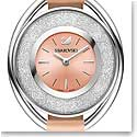 Swarovski Crystalline Oval Light Rose Watch
