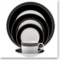 Vera Wang Wedgwood China With Love Noir 5 Piece Place Setting