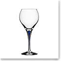 Orrefors Intermezzo Blue Sweet Wine Glass, Single