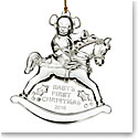 Marquis by Waterford 2016 Babys First Ornament