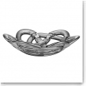 Kosta Boda Basket Small Bowl, Silver