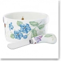 Lenox China Butterfly Meadow Dip Bowl and Spreader