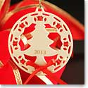 Lenox Christmas Wrappings Christmas Tree 2013 Ornament