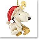 Lenox 2016 Snoopys List for Santa Ornament