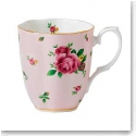 Royal Albert China New Country Roses Pink Vintage Mug, Single