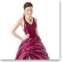 Royal Doulton China Pretty Ladies Birthstone Petites February - Amethyst