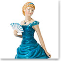Royal Doulton China Pretty Ladies Birthstone Petites December - Turquoise