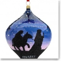 Reed and Barton MD Anderson Blown Glass Journey Ornament by Anabel