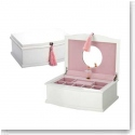 Reed and Barton Ballerina Jewelry Chest, White