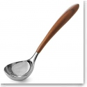 Nambe Curvo Metal and Wood Ladle