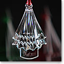 Baccarat Annual Noel 2016 Tree Ornament, Clear