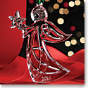 Cashs Crystal Angel with Star, Annual Edition 2016 Ornament