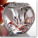 Cashs Crystal Annestown Large Apple Paperweight