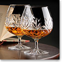 Cashs Crystal Annestown Large Brandy Glasses, 1+1 Free