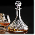 Cashs Crystal Annestown Ships Decanter