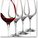 Cashs Crystal Wine Cru Cabernet, Merlot Red Wine Glasses, Set of Four