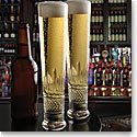 Cashs Crystal Cooper Lager Beer Glasses, Buy One Get One Free