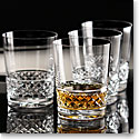 Cashs Crystal Cooper Single Malt Whiskey Glasses, Set 2+2 Free