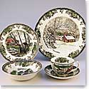 Johnson Brothers China Friendly Village 5 Piece Set