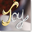 Nambe 2016 Joy Ornament