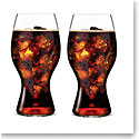 Coca-Cola and Riedel Glass, Pair