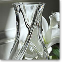 "Baccarat Serpentin Large 9 7/8"" Vase"