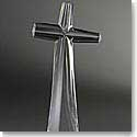 Nambe Crystal Taos Cross Figurine