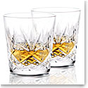Waterford Huntley Old Fashioned Glasses, Pair