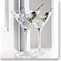 Waterford Huntley Martinis, Pair