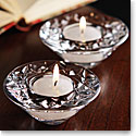 Waterford Loralee Tealight Votives, Pair